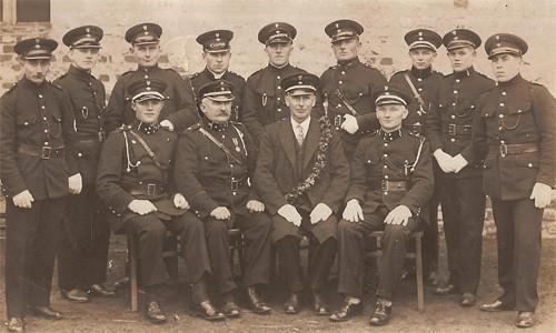 Druhowie OSP Woszczyce w roku 1935