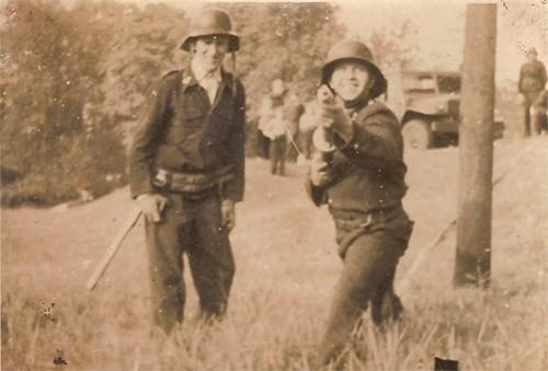 Strażacy z Woszczyc w akcji